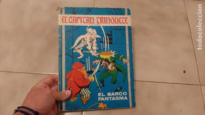 COMIC TEBEO TAPA DURA EL CAPITÁN TRINQUETE Nº 3 EL BARCO FANTASMA EDICIONES TORAY AÑO 1971 (Tebeos y Comics - Toray - Otros)