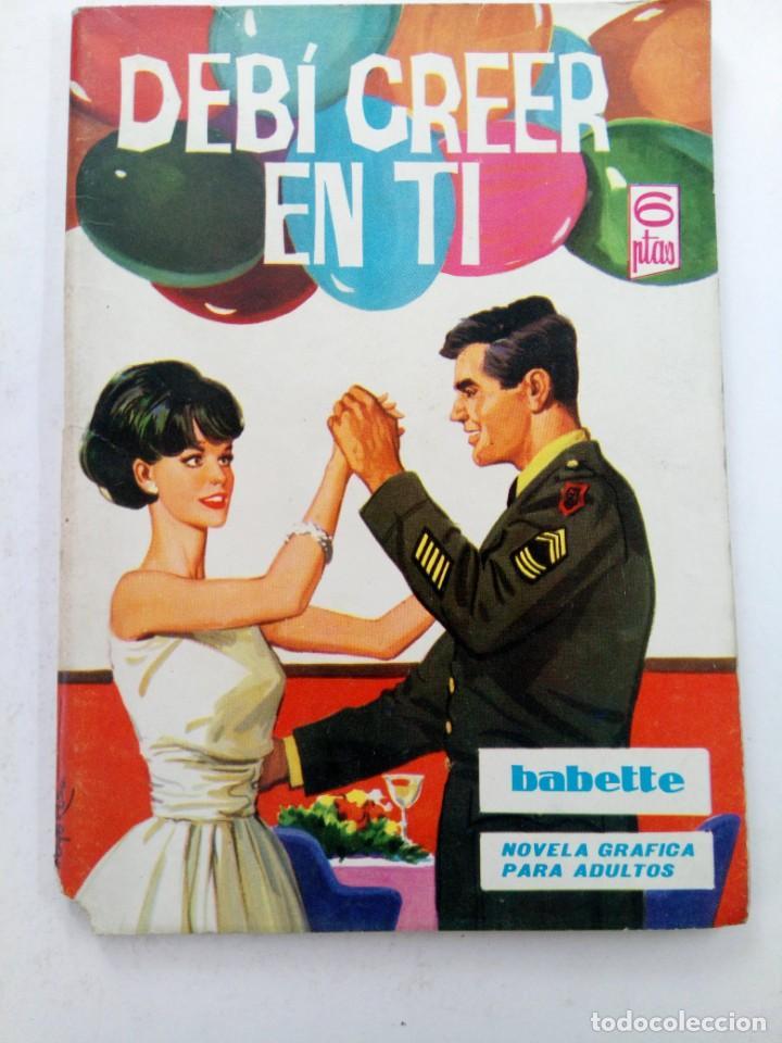 BABETTE Nº 37 - DEBÍ CREEER EN TÍ - EDICIONES TORAY (Tebeos y Comics - Toray - Otros)