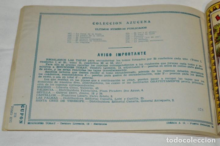 Tebeos: AZUCENA del 371 al 380 - Tomo/taco con 10 revistas/tebeos - Muy buen estado / Años 50/60 - Lote 1 - Foto 10 - 245379300