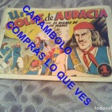 Tebeos: EL DIABLO DE LOS MARES Nº 2 TORAY 1947 UN GOLPE DE AUDACIA ORIGINAL TB1. Lote 245499040