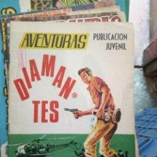 Tebeos: AVENTURAS. PUBLICACIÓN JUVENIL. DIAMANTES. Lote 246211490