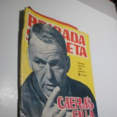 Tebeos: BRIGADA SECRETA Nº 106 CAERÁS EN LA TRAMPA. TORAY 1965 CON FOLLETO (ESTADO NORMAL, LEER). Lote 246217415