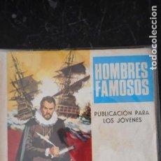 Tebeos: HOMBRES FAMOSOS Nº 3 . CERVANTES. Lote 246349900