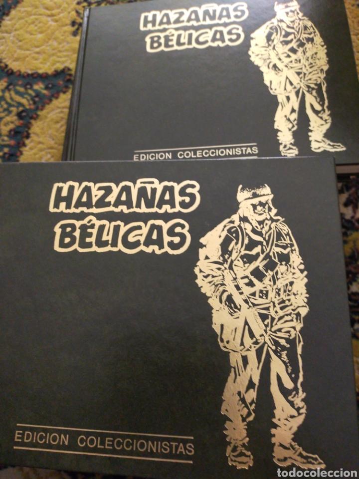COLECCIÓN HAZAÑAS BÉLICAS 10 TOMOS PRIMERA SERIE COMPLETA BUEN ESTADO TORAY FONDOS EDITORIALES (Tebeos y Comics - Toray - Hazañas Bélicas)