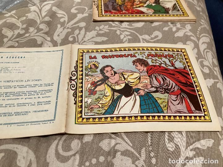 Tebeos: AZUCENA LOTE 17 NUMEROS - VER INTERIOR NUMEROS Y FOTOS - Foto 10 - 246850140