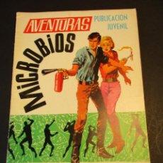 Tebeos: AVENTURAS (1967, TORAY) 36 · 2-V-1969 · MICROBIOS. Lote 247449175