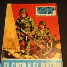 Tebeos: HAZAÑAS BELICAS (1961, TORAY) -NOVELA GRAFICA- 168 · 1-III-1968 · EL GATO Y EL RATÓN. Lote 247478820