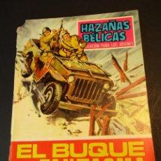 Tebeos: HAZAÑAS BELICAS (1961, TORAY) -NOVELA GRAFICA- 183 · 27-IX-1968 · EL BUQUE FANTASMA. Lote 247479275