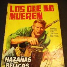 Tebeos: HAZAÑAS BELICAS (1961, TORAY) -NOVELA GRAFICA- 80 · 16-X-1964 · LOS QUE NO MUEREN. Lote 247480235