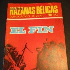 Tebeos: HAZAÑAS BELICAS (1961, TORAY) -NOVELA GRAFICA- 220 · 27-II-1970 · EL FIN. Lote 247482965