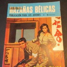 Tebeos: HAZAÑAS BELICAS (1961, TORAY) -NOVELA GRAFICA- 212 · 7-XI-1969 · EL CABO SLIM. Lote 247574705