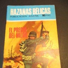 Tebeos: HAZAÑAS BELICAS (1961, TORAY) -NOVELA GRAFICA- 226 · 22-V-1970 · EL PRECIO DEL VALOR. Lote 247575515