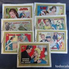 Tebeos: 7 COMICS REVISTAS JUVENIL FEMENINA - COLECCIÓN AZUCENA - EDICIONES TORAY.. Lote 247580495
