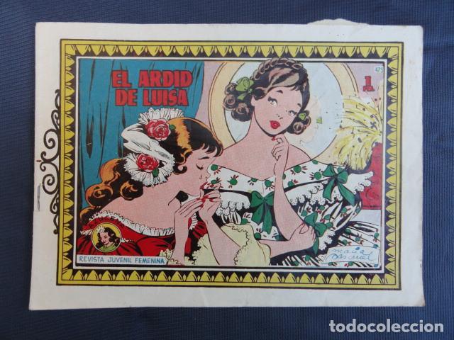 Tebeos: 7 COMICS REVISTAS JUVENIL FEMENINA - COLECCIÓN AZUCENA - EDICIONES TORAY. - Foto 5 - 247580495