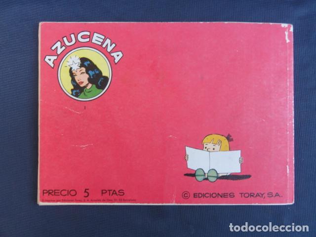 Tebeos: COMIC REVISTA JUVENIL FEMENINA - COLECCIÓN AZUCENA - NÚMERO ESPECIAL. EDICIONES TORAY. - Foto 5 - 247585180