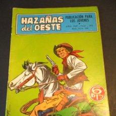 Tebeos: HAZAÑAS DEL OESTE (1962, TORAY) 193 · 4-VII-1969 · HAZAÑAS DEL OESTE. Lote 247638230