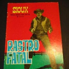 Tebeos: SIOUX (1964, TORAY) 35 · 20-VIII-1965 · RASTRO FATAL. Lote 247642475