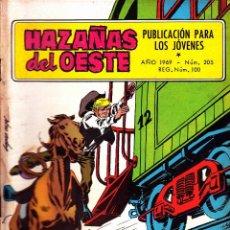 Tebeos: COMIC NOVELA GRAFICA HAZAÑAS DEL OESTE Nº 205. Lote 248759235