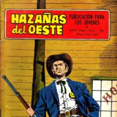 Tebeos: COMIC NOVELA GRAFICA HAZAÑAS DEL OESTE Nº 168. Lote 248759260