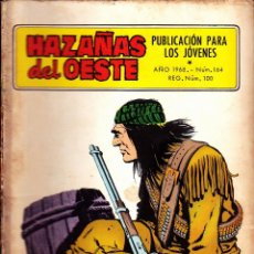 Tebeos: COMIC NOVELA GRAFICA HAZAÑAS DEL OESTE Nº 164. Lote 248759295