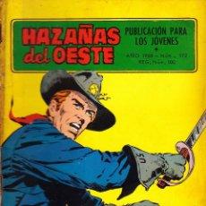 Tebeos: COMIC NOVELA GRAFICA HAZAÑAS DEL OESTE Nº 172. Lote 248759420
