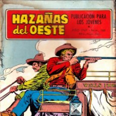 Tebeos: COMIC NOVELA GRAFICA HAZAÑAS DEL OESTE Nº 168. Lote 248759940