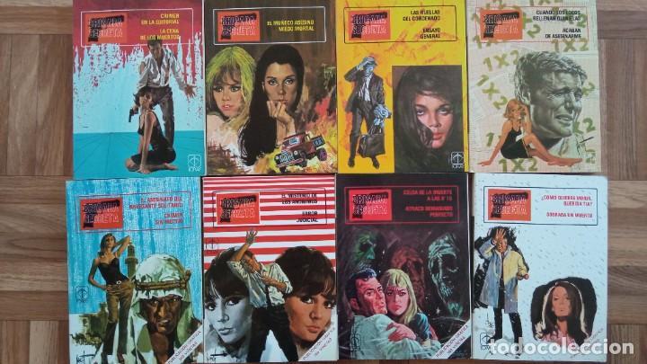 BRIGADA SECRETA - COLECCIÓN COMPLETA. 8 NÚMEROS. TORAY 1982. (Tebeos y Comics - Toray - Otros)