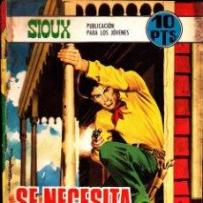 Tebeos: COMIC NOVELA GRAFICA SIOUX Nº 114. Lote 249030500