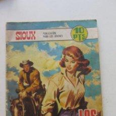 BDs: SIOUX Nº 126 EDICIONES TORAY 1968 DIBUJOS DE J.DUARTE - PORTADA DE LONGARON SDX2. Lote 249131730
