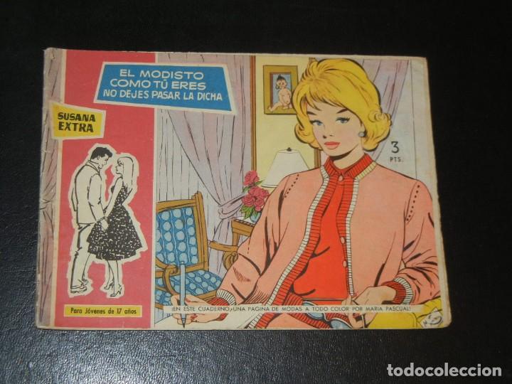 COLECCION SUSANA EXTRA Nº5 - TORAY - EL MODISTO, COMO TU ERES, NO DEJES PASAR LA DICHA (Tebeos y Comics - Toray - Susana)