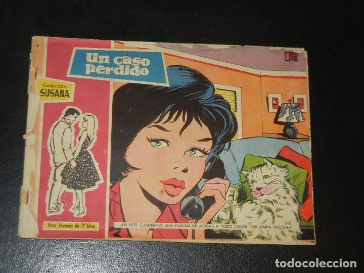 COLECCION SUSANA Nº58 - TORAY - UN CASO PERDIDO (Tebeos y Comics - Toray - Susana)