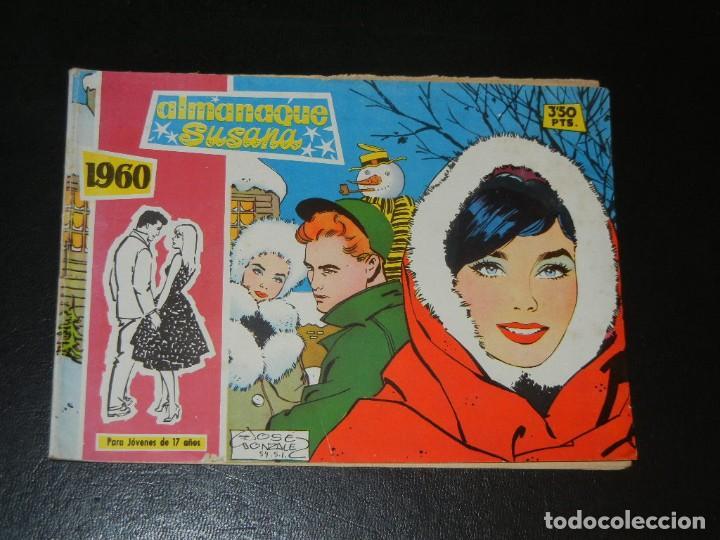 COLECCION SUSANA ALMANAQUE 1960 - TORAY (Tebeos y Comics - Toray - Susana)