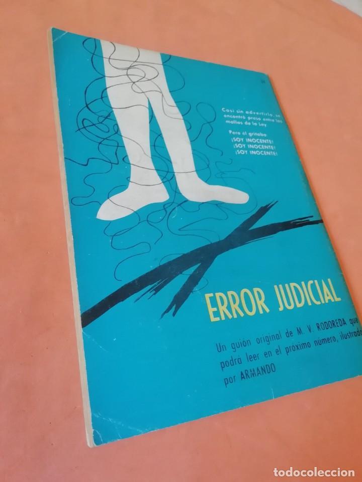 Tebeos: BRIGADA SECRETA. Nº 34. SUBIRAS AL PATIBULO. EDICIONES TORAY 1963 - Foto 3 - 250120465