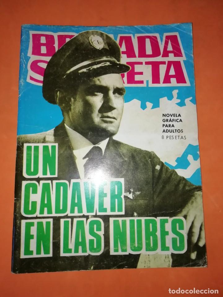 BRIGADA SECRETA. Nº 136. UN CADAVER EN LAS NUBES. EDICIONES TORAY 1963 (Tebeos y Comics - Toray - Brigada Secreta)