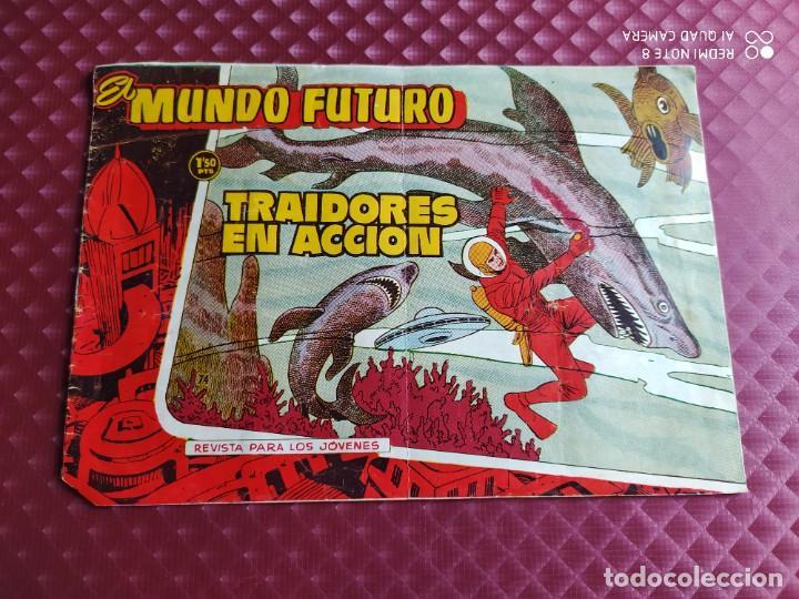 EL MUNDO FUTURO TRAIDORES EN ACCION ORIGINAL TORAY (Tebeos y Comics - Toray - Mundo Futuro)