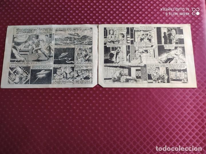 Tebeos: EL MUNDO FUTURO TRAIDORES EN ACCION ORIGINAL TORAY - Foto 2 - 251272850