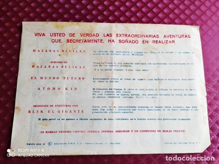 Tebeos: EL MUNDO FUTURO TRAIDORES EN ACCION ORIGINAL TORAY - Foto 5 - 251272850