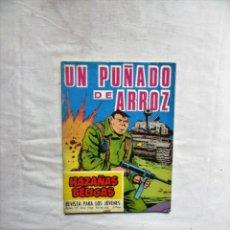 Livros de Banda Desenhada: UN PUÑADO DE ARROZ EXTRA 195 HAZAÑAS BELICAS. Lote 251864685