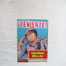 Livros de Banda Desenhada: ¡ TENIENTE ! Nº 226 HAZAÑAS BELICAS. Lote 251865790