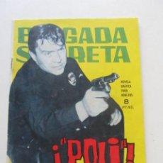 Tebeos: BRIGADA SECRETA- Nº 83 -1964 -¡POLI!- EDICIONES TORAY. 1964 ARX81. Lote 252206005