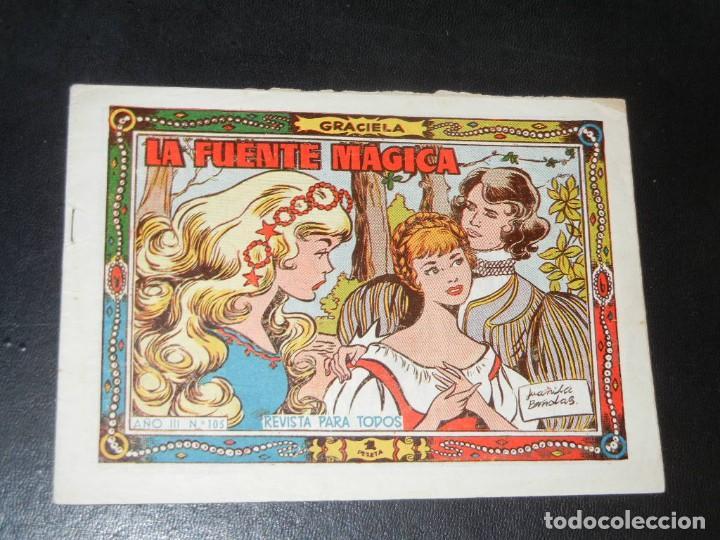 COLECCION GRACIELA Nº105 - TORAY - LA FUENTE MAGICA (Tebeos y Comics - Toray - Graciela)
