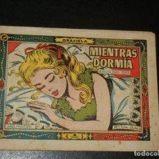 Tebeos: COLECCION GRACIELA Nº175 - TORAY - MIENTRAS DORMIA. Lote 253009365