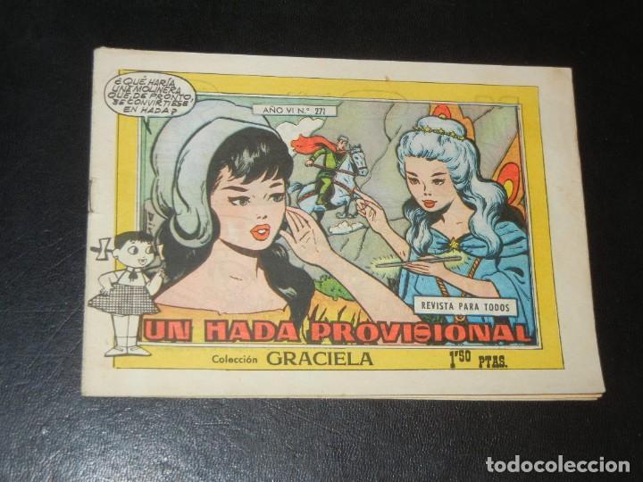 COLECCION GRACIELA Nº271 - TORAY - UN HADA PROVISIONAL (Tebeos y Comics - Toray - Graciela)
