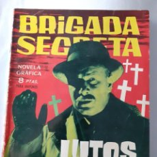 Tebeos: BRIGADA SECRETA- Nº 13 -1963-LUTOS AL DÍA-GRAN ARMANDO SÁNCHEZ-CASI BUENO-DIFÍCIL-LEAN-4530. Lote 253015235