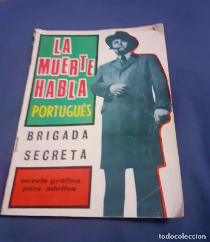 Tebeos: 2 comic de brigada Secreta de los años 65 y 66 - Foto 2 - 253042445