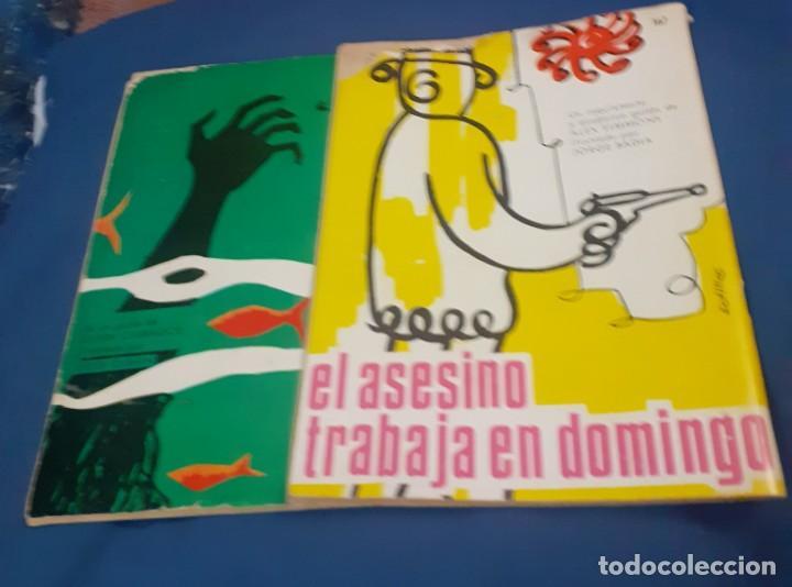 Tebeos: 2 comic de brigada Secreta de los años 65 y 66 - Foto 5 - 253042445