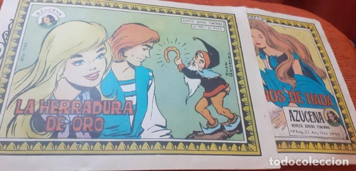 LOTE DE 2 TEBEOS DE AZUCENA AÑO 1965 (Tebeos y Comics - Toray - Azucena)