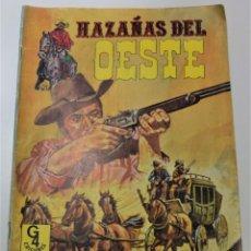 Tebeos: HAZAÑAS DEL OESTE Nº 11 - G4 EDICIONES AÑO 1987. Lote 253647990