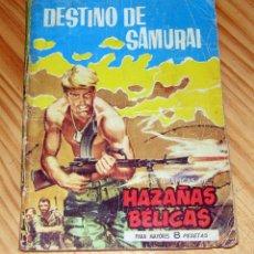 Tebeos: HAZAÑAS BÉLICAS - NOVELA GRAFICA - NUM 45 - DESTINO DE SAMURAI - EDICIONES TORAY - 1961. Lote 253761215
