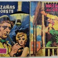 Tebeos: LOTE 2 TEBEOS HAZAÑAS DEL OESTE 33 Y 64 - EDICIONES TORAY. Lote 253846800